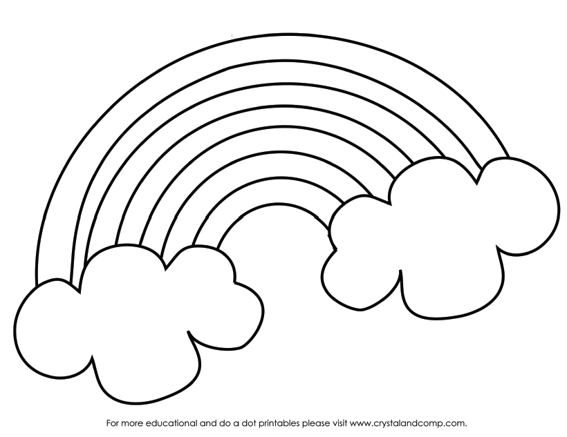 shamrock coloring page - kid color pages for st patricks day