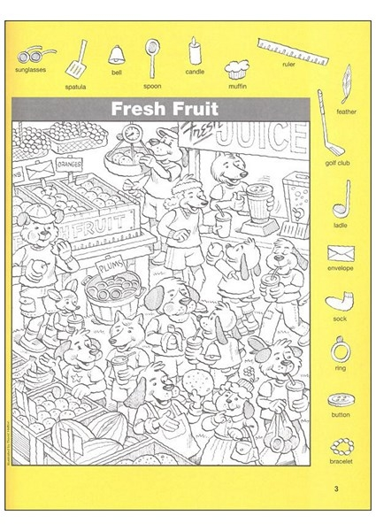shapes coloring pages - find the hidden object pictures 1