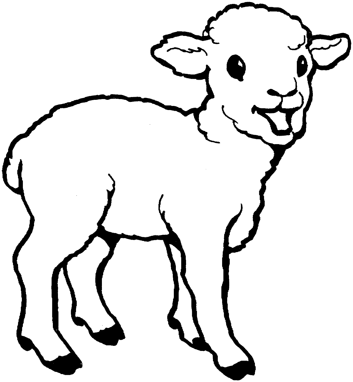 25 Sheep Coloring Page Collections FREE COLORING PAGES Part 2