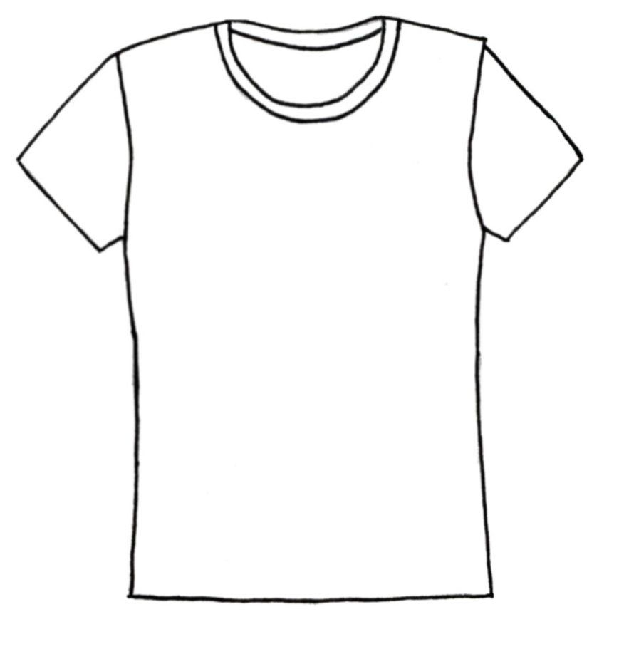 shirt coloring page - t shirt coloring page