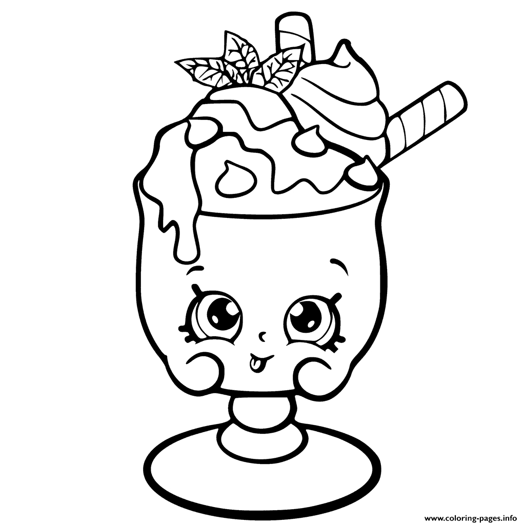 shopkins coloring pages season 6 - choc mint charlie from shopkins season 6 chef club printable coloring pages book