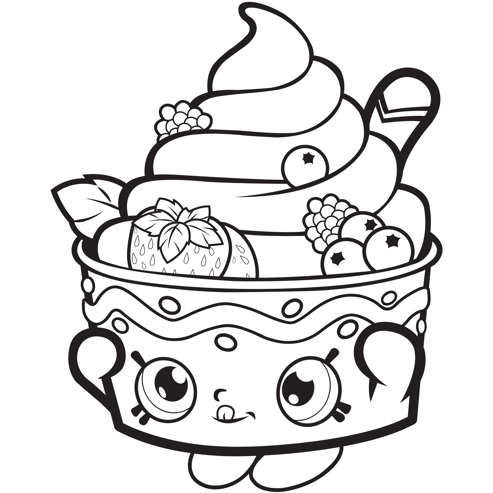 shopkins printable coloring pages -
