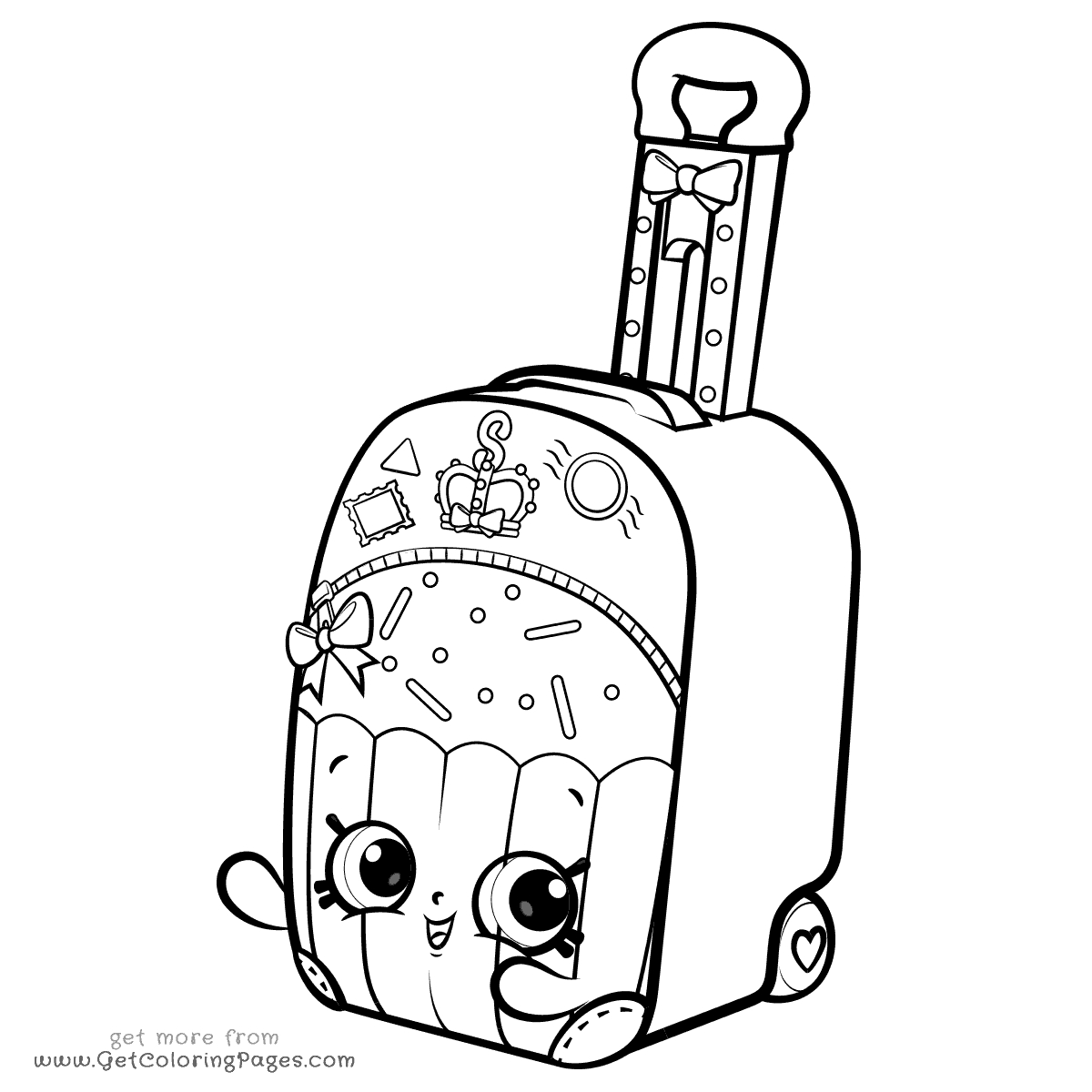 Shopkins Shoppies Coloring Pages - Coloring Pages Shoppies
