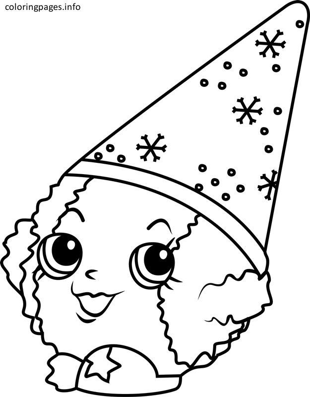 shopkins shoppies coloring pages - shopkins coloring pages snow crush 690