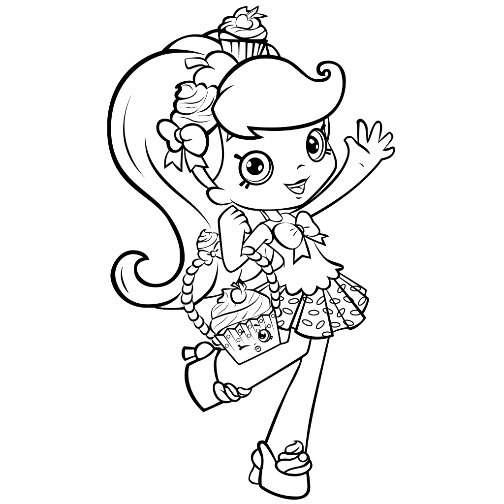 Shoppies Coloring Pages - All Shoppies Coloring Pages Coloring Pages