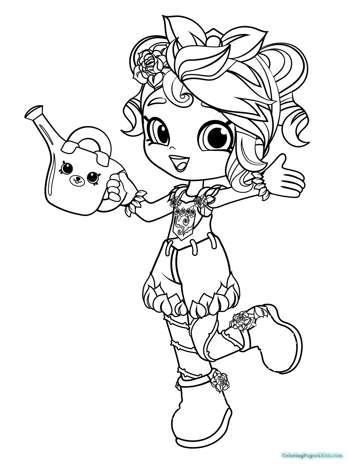 shoppies coloring pages - shopkins shoppies coloring pages 102