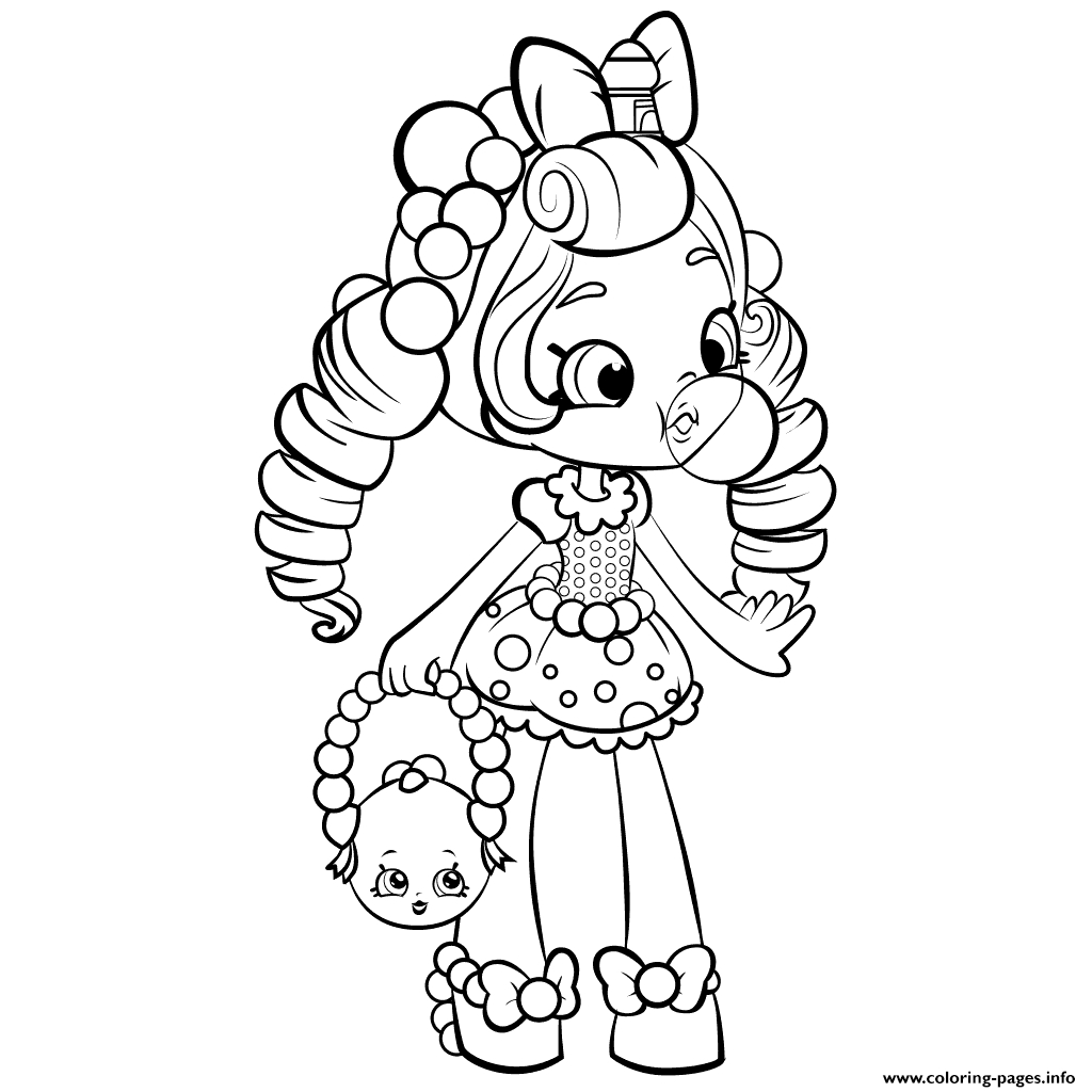 shoppies coloring pages - shopkins shoppies doll printable coloring pages book