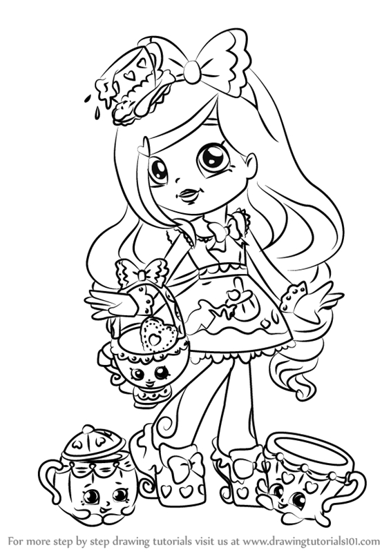 shoppies coloring pages - shoppies coloring pages sketch templates