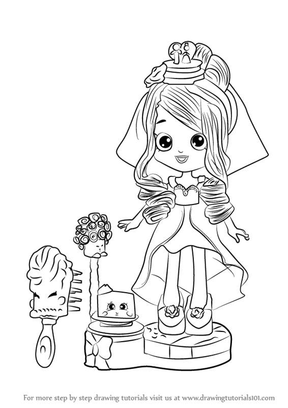 21 Shoppies Coloring Pages Printable Free Coloring Pages Part 3
