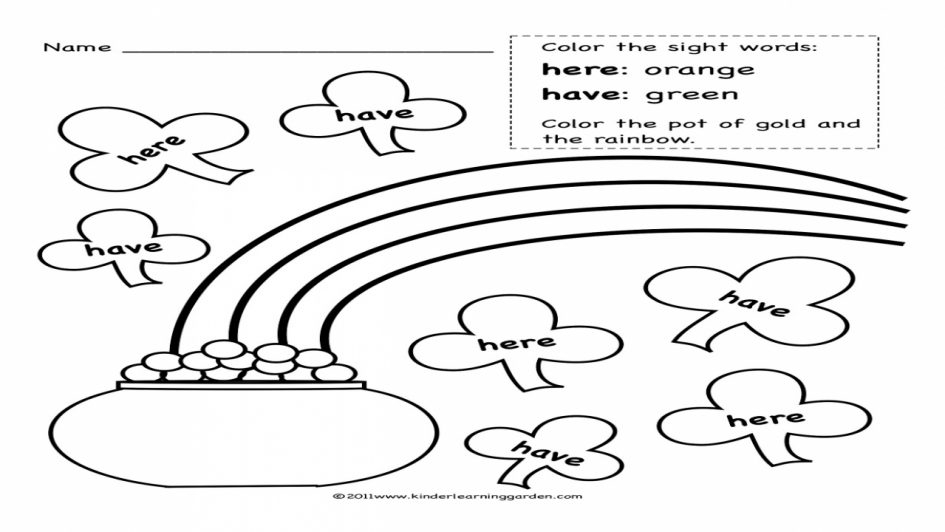 21 Sight Word Coloring Pages Images | FREE COLORING PAGES - Part 3