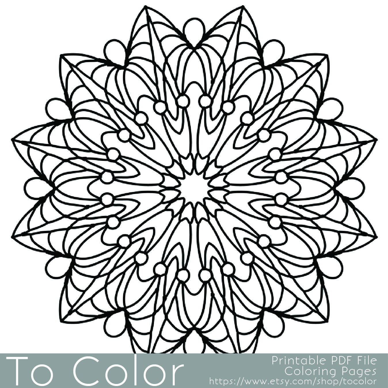 simple adult coloring pages -