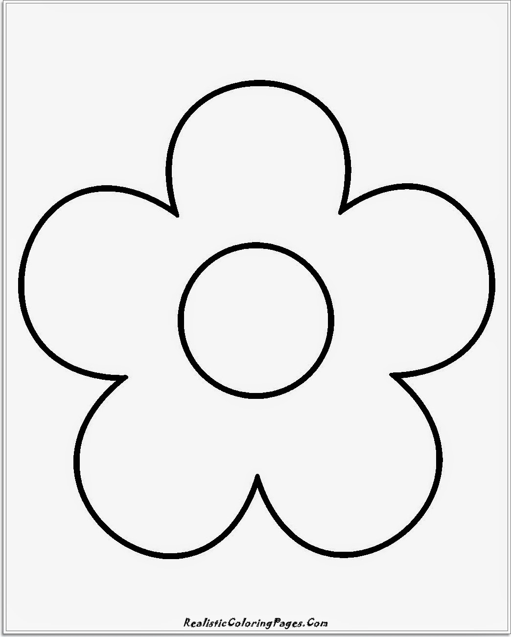 simple coloring pages - 14 simple nature coloring pages