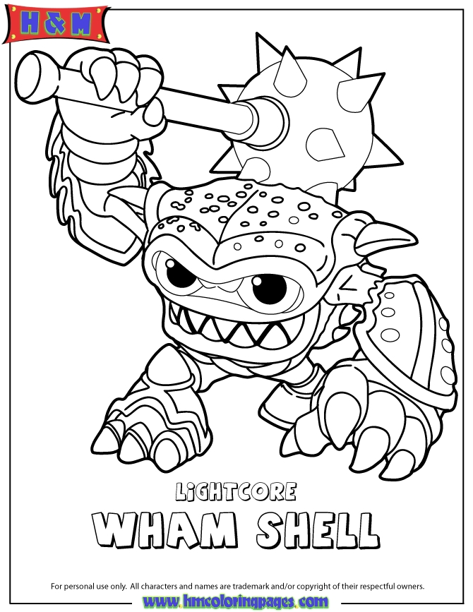 skylanders coloring pages - q=skylanders warnado