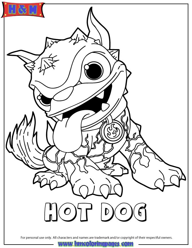 skylanders coloring pages -