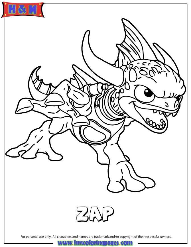 skylanders coloring pages - skylander spyro adventure coloring sketch templates
