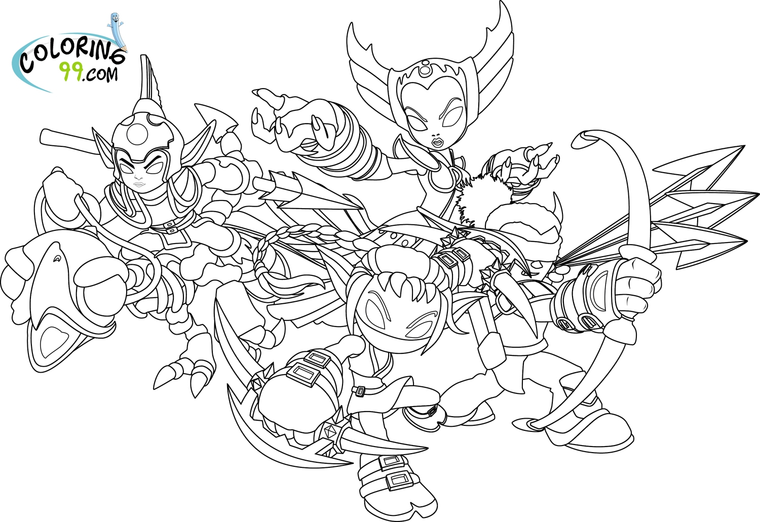 skylanders coloring pages - skylanders coloring pages