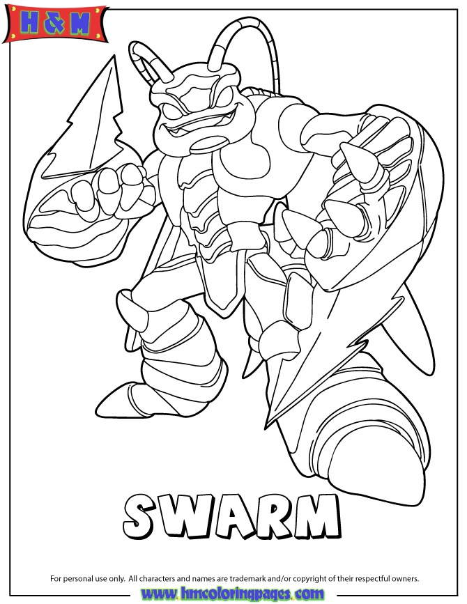 20 Skylanders Coloring Pages Images FREE COLORING PAGES Part 3