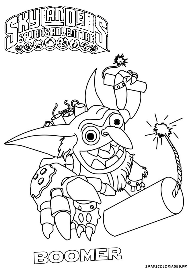 skylanders imaginators coloring pages - skylanders tech