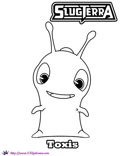 slugterra coloring pages - slugterra printables activities and coloring pages