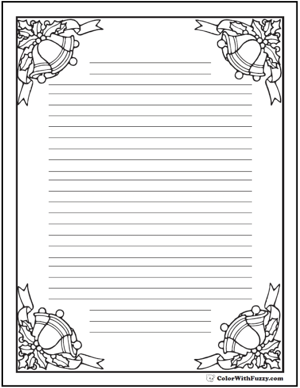 small coloring pages - coloring pages christmas bells