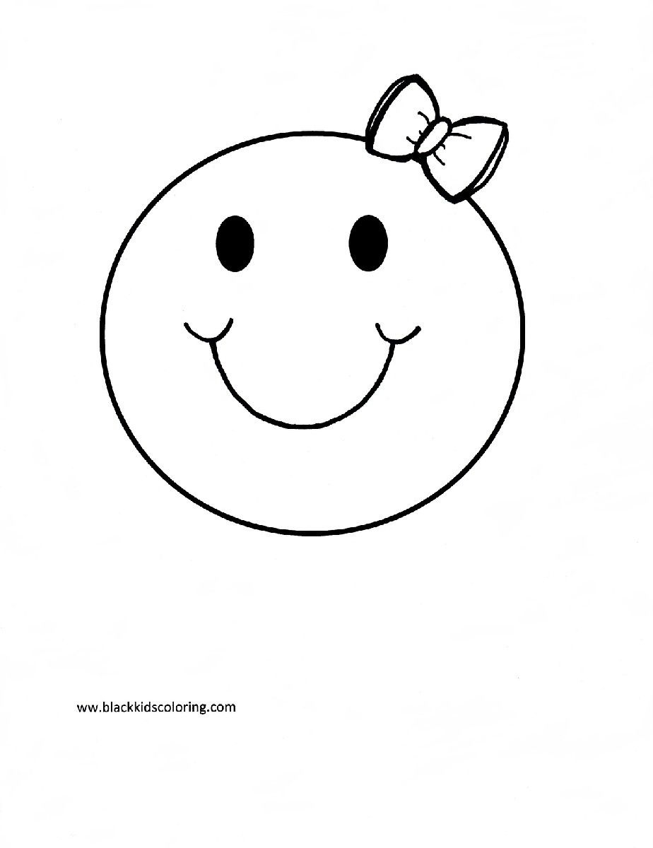 smiley face coloring page - free smiley face coloring pages