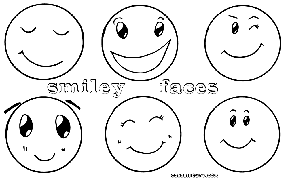 smiley face coloring page - smiley face coloring pages