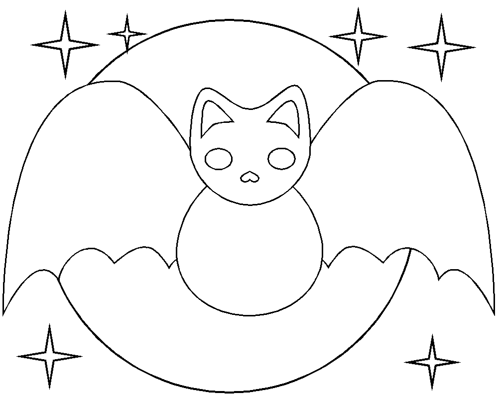 snake coloring pages - halloween bat coloring pages bats cute
