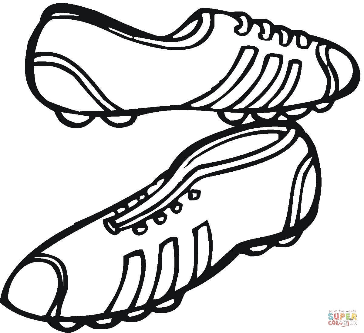 sneaker coloring page - sneakers