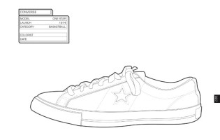 sneaker coloring page - sneakers coloring pages
