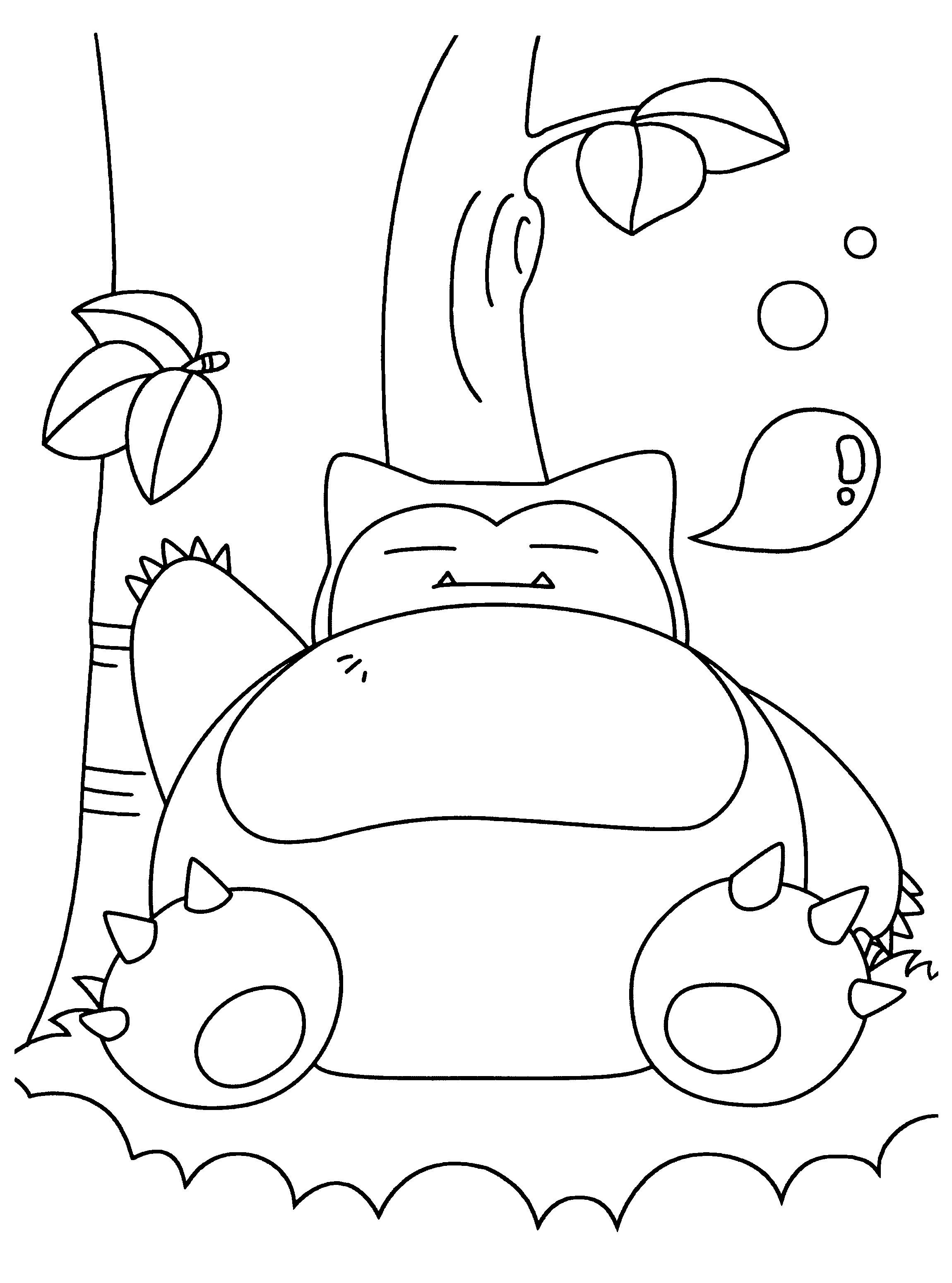 20 Snorlax Coloring Pages Collections Free Part 3 Rh Adultcoloringpages Club