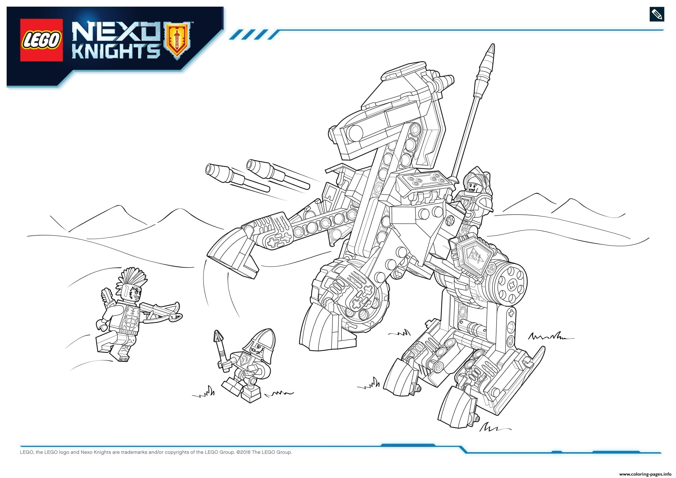 snowflake coloring page - lego nexo knights products 6 printable coloring pages book