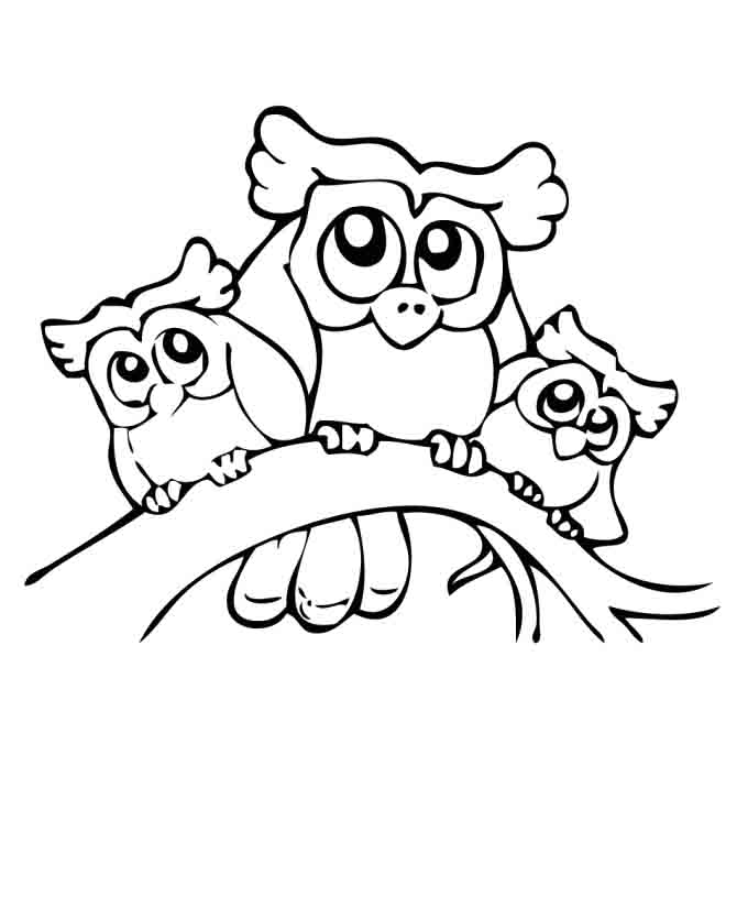 snowman coloring pages printable - owl pictures to print