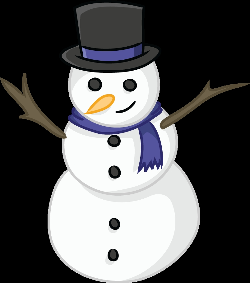 snowman coloring pages -