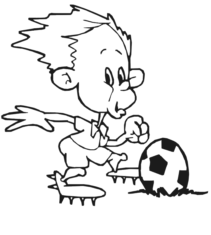 soccer coloring pages - teamwork coloring pages