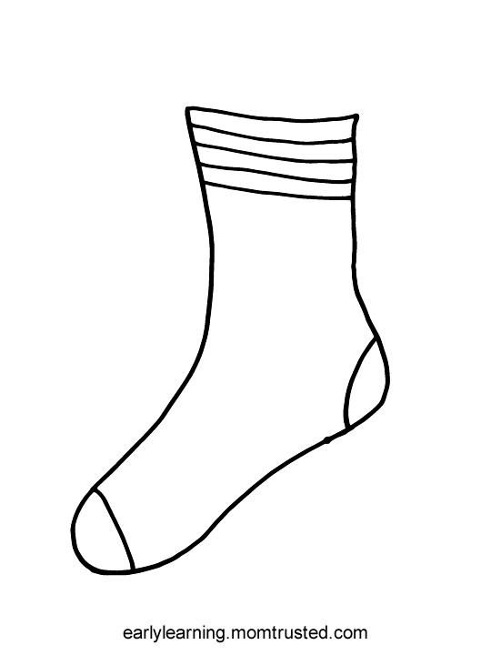 socks coloring page - fox in socks coloring sketch templates