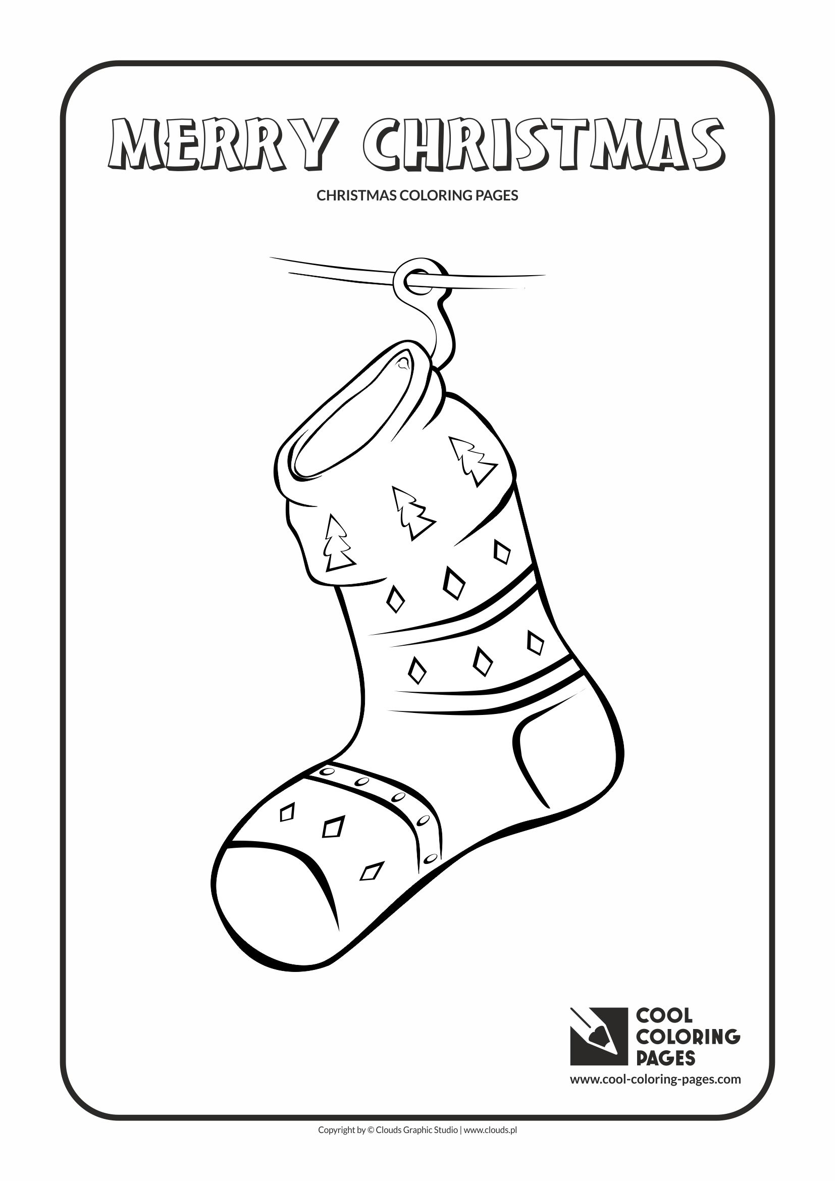 socks coloring page - coloringpages1001 coloring pages christmas socks christmas socks coloring pages 9