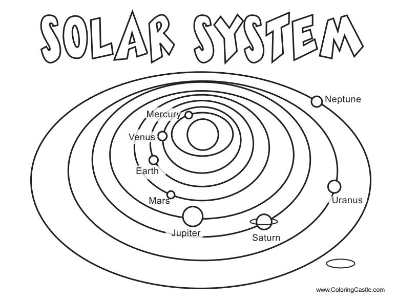 solar system coloring pages - awesome coloring solar system coloring pages at free printable solar system coloring pages for kids