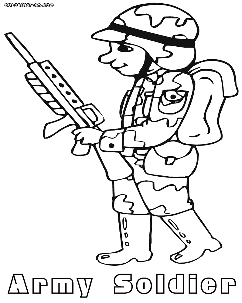 soldier coloring pages - sol r coloring pages