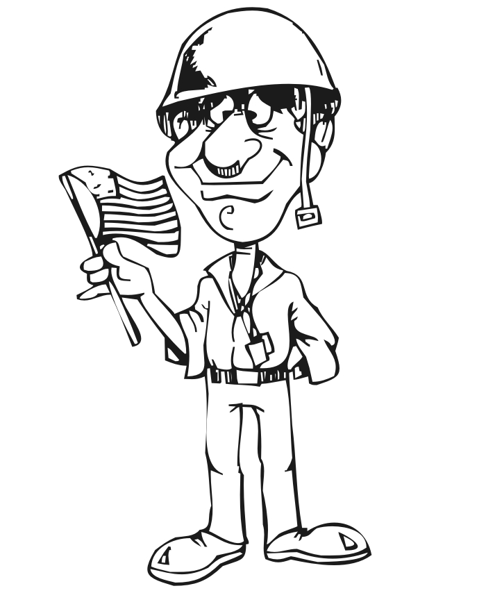 soldier coloring pages - r=wwii sol r