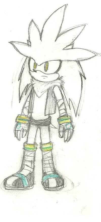 sonic boom coloring pages - Sonic Boom Silver the hedgehog