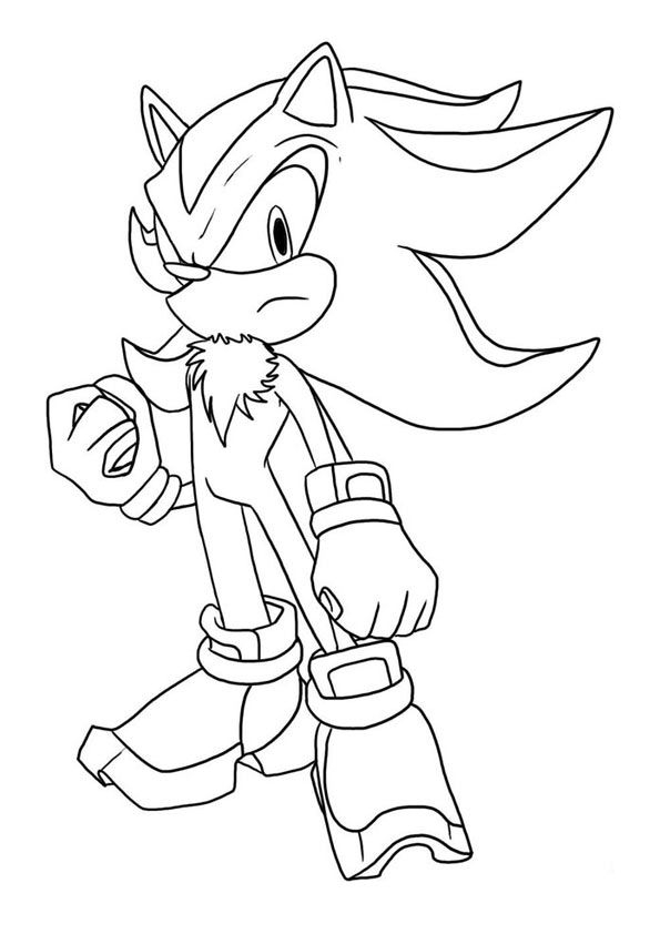 sonic the hedgehog coloring pages - coloriage sonic