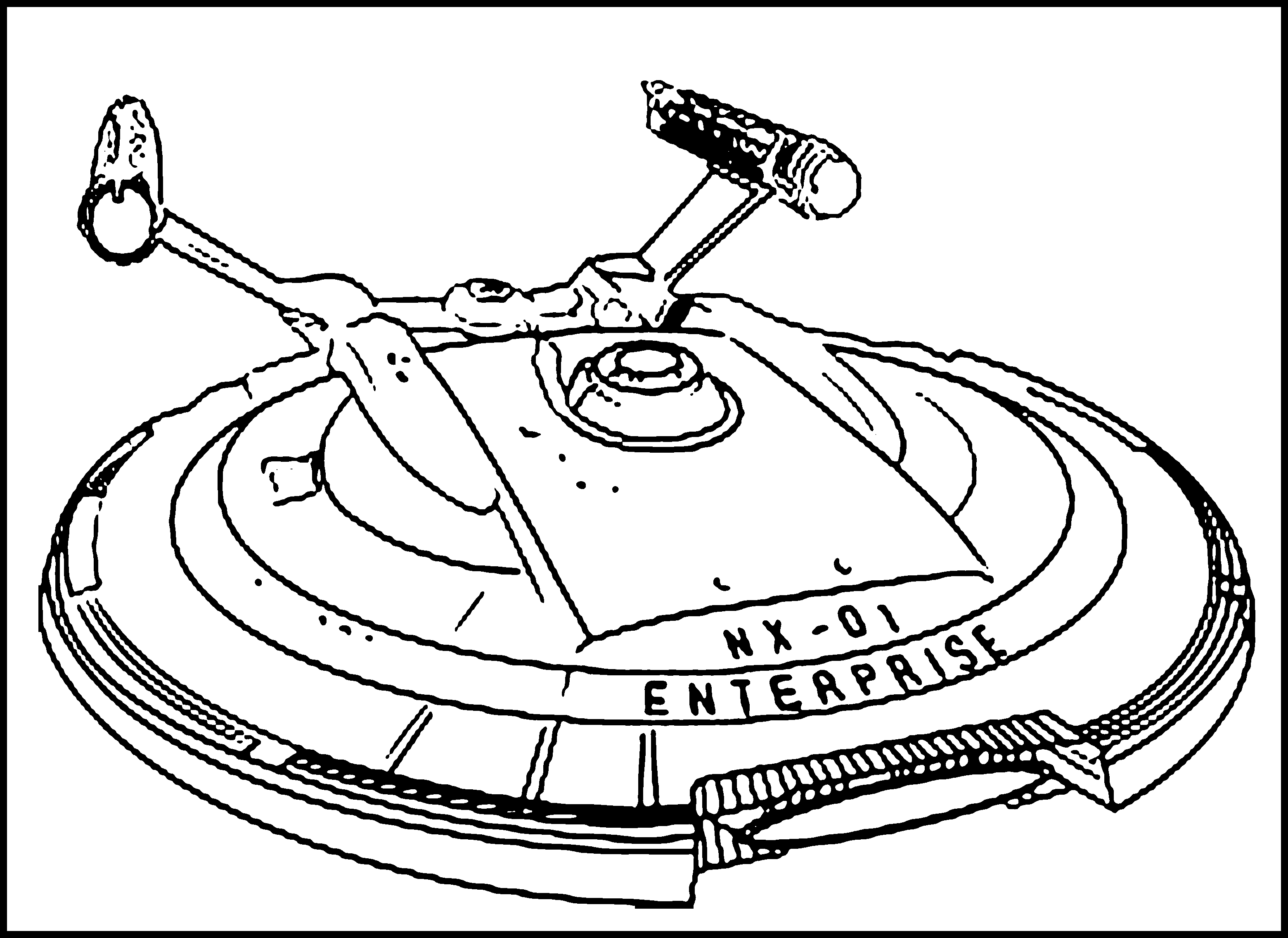 Spaceship Coloring Pages - Free Printable Spaceship Coloring Pages for Kids