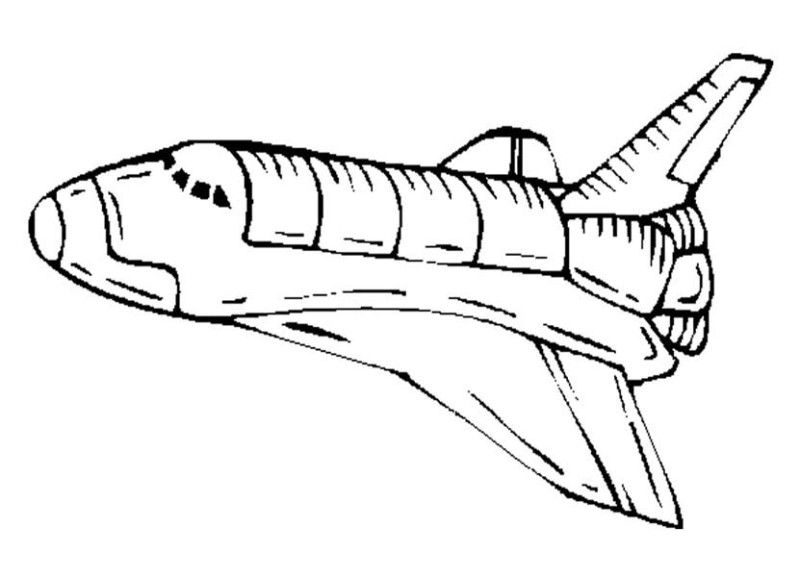 spaceship coloring pages - spaceship coloring page