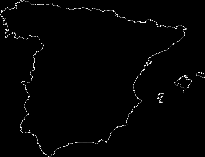 spain flag coloring page - spain outline maps