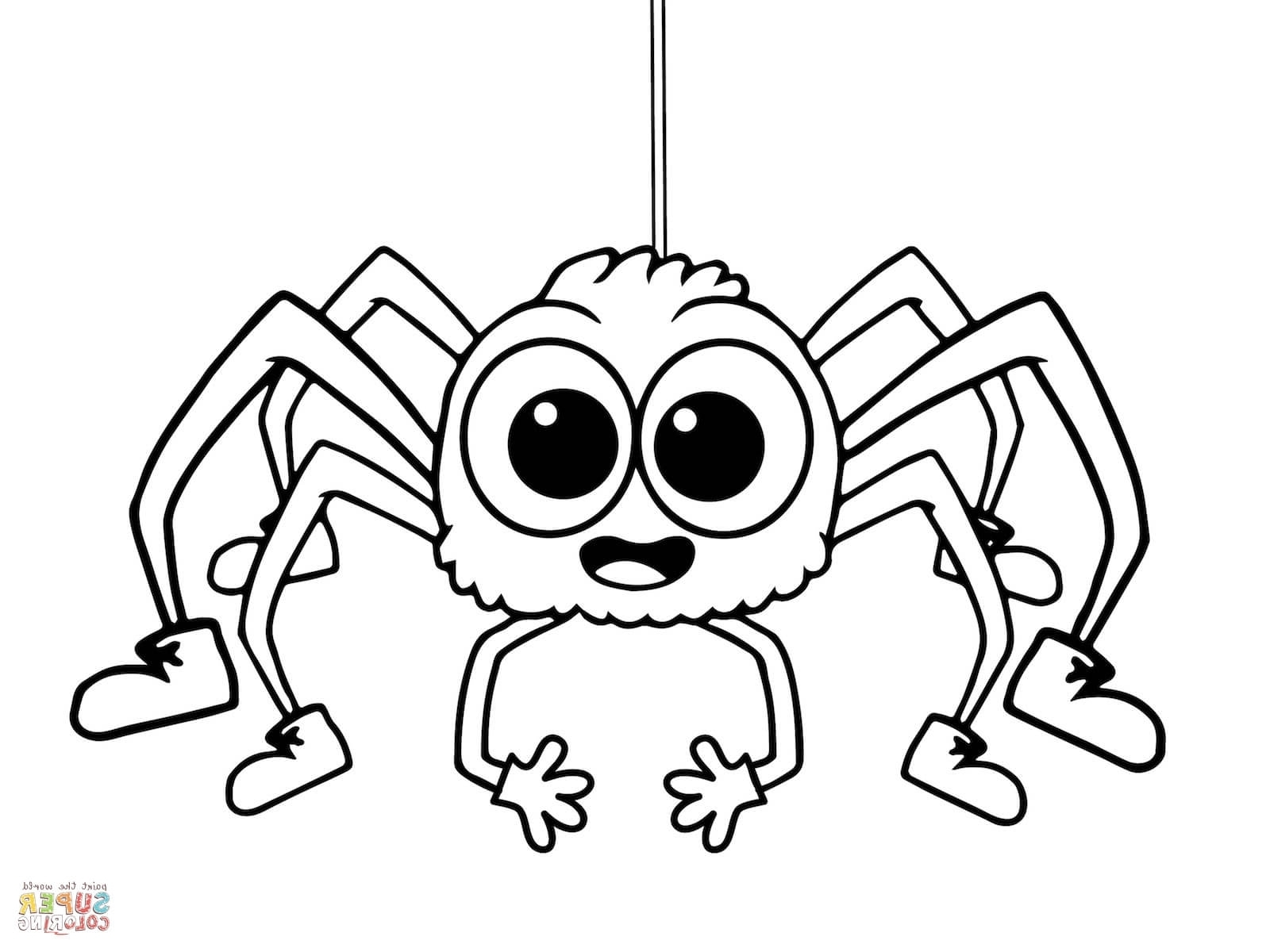 spider coloring pages - incy wincy spider coloring pages incy wincy spider coloring page free printable coloring pages
