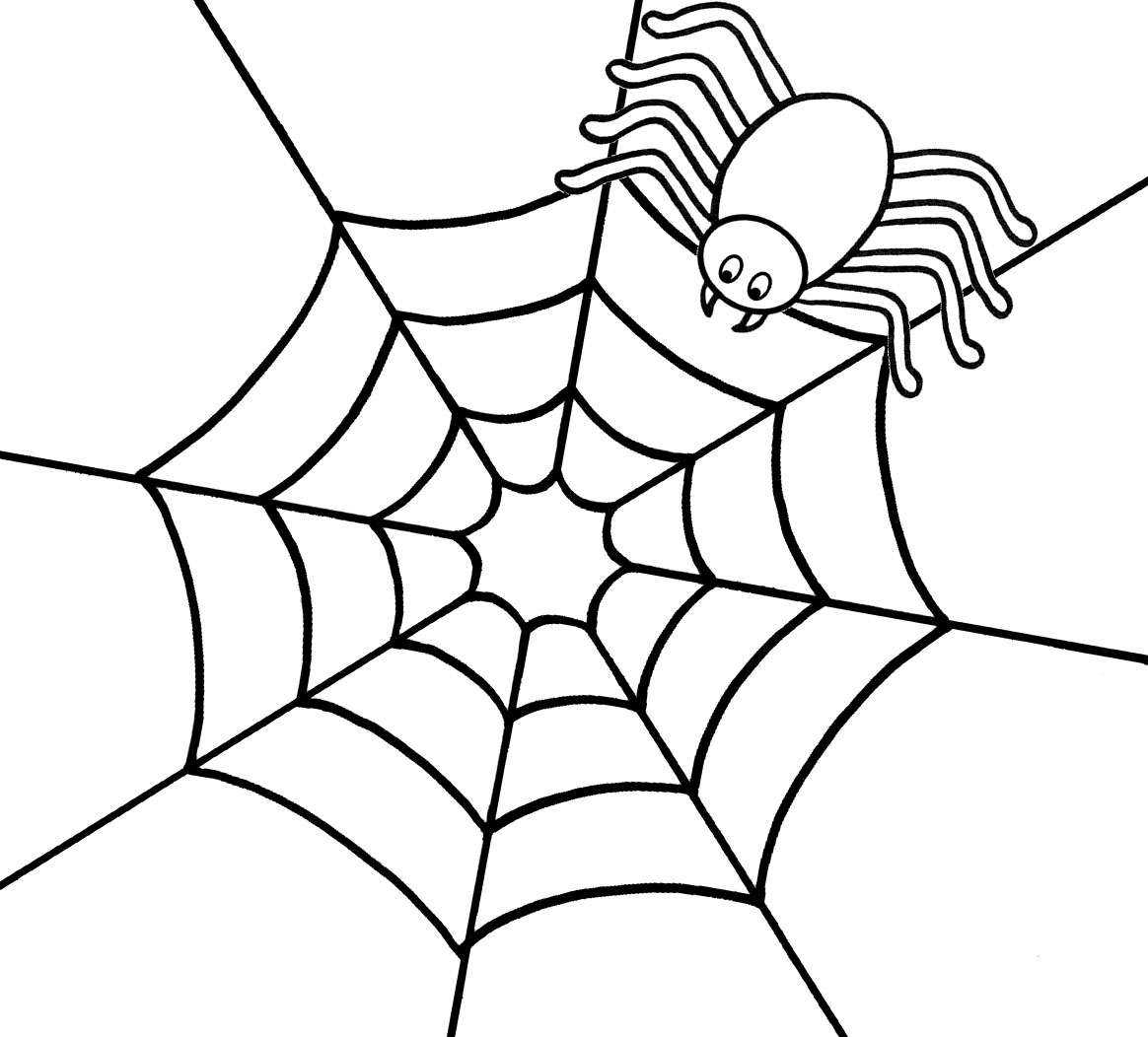 Spider Coloring Pages - Printable Spider Coloring Pages
