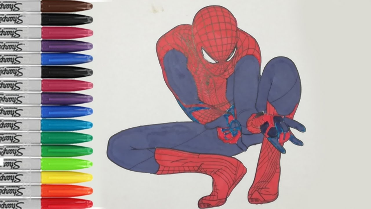 Spider Man Homecoming Coloring Pages - Spiderman Shoots F the Web Coloring Pages the Amazing