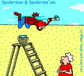 spiderman coloring pages free - Spiderman Jokes
