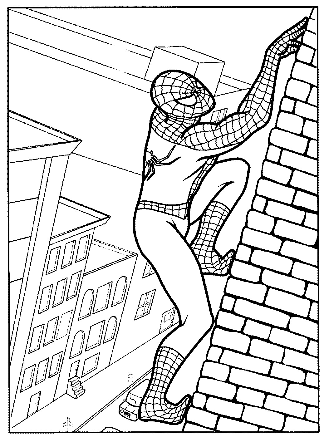 spiderman coloring pages - p=3828