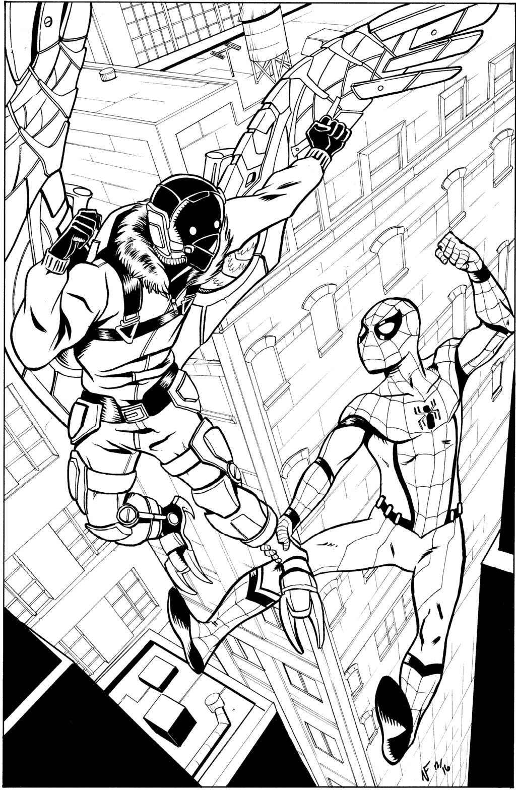 23 Spiderman Homecoming Coloring Pages Printable Free Coloring Pages